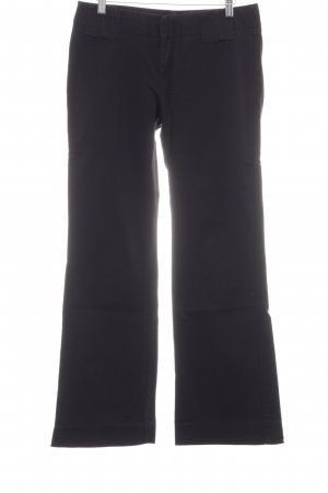 Gap Marlenejeans schwarz Streifenmuster Business-Look