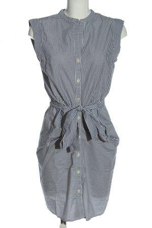 Gap Blusenkleid schwarz-weiß Allover-Druck Business-Look