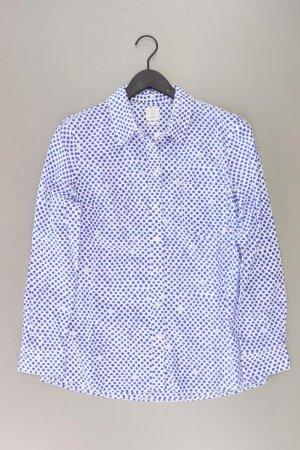 GAP Oversize-Bluse Größe L gepunktet blau aus Baumwolle