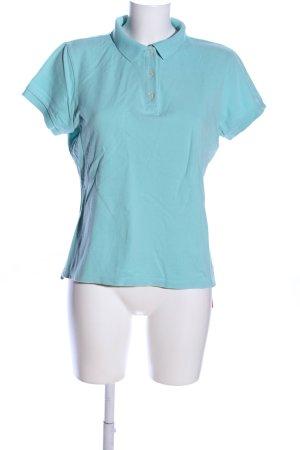 Gap Polo-Shirt türkis Casual-Look