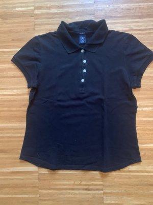 GAP Poloshirt schwarz M