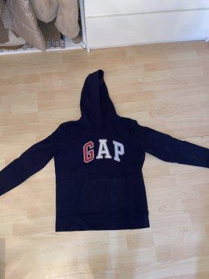 Gap Sweter z kapturem niebieski