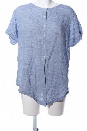 Gap Maglietta a righe blu-bianco motivo a righe stile casual