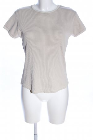 Gap Rippshirt hellgrau Casual-Look