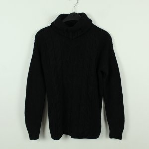 Gap Turtleneck Sweater black cotton