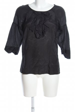 Gap Blouse à volants noir style d'affaires