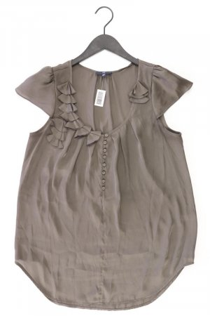 Gap Ruffled Blouse olive green polyester