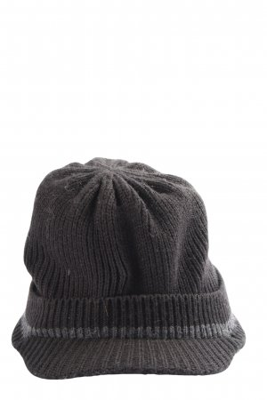 Gap Knitted Hat black-light grey cable stitch casual look