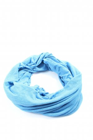 Gap Tube Scarf blue flecked casual look