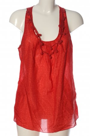 Gap Schlupf-Bluse rot Casual-Look