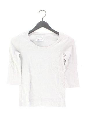 GAP Shirt Größe M 3/4 Ärmel grau aus Baumwolle