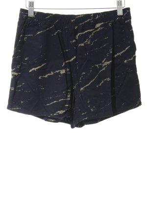 Gap Shorts dunkelblau-grüngrau meliert Casual-Look