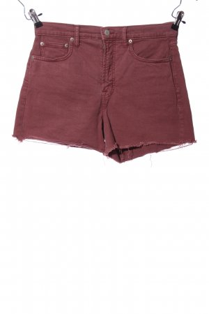 Gap Shorts rot Casual-Look