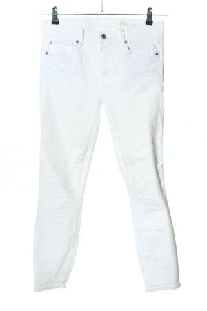 Gap Skinny Jeans weiß Casual-Look