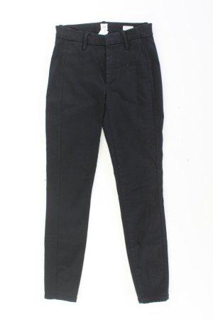 GAP Skinny Jeans Größe US 0 schwarz aus Baumwolle