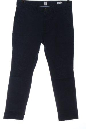 Gap Pantalón tipo suéter azul look casual
