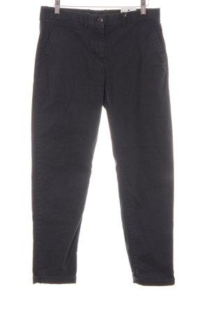 Gap Jersey Pants steel blue-light brown casual look