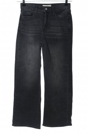 Gap Straight-Leg Jeans schwarz Casual-Look