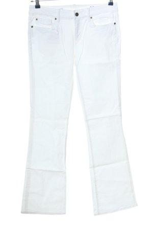 Gap Jeansy z prostymi nogawkami biały W stylu casual