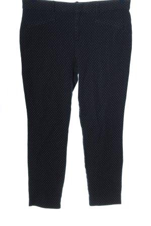 Gap Jeansy z prostymi nogawkami czarny-biały W stylu casual