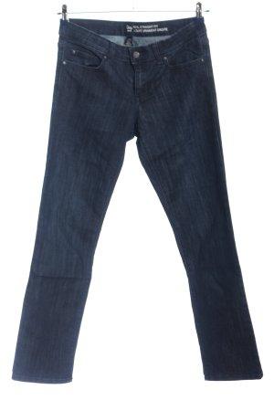 Gap Jeansy z prostymi nogawkami niebieski W stylu casual