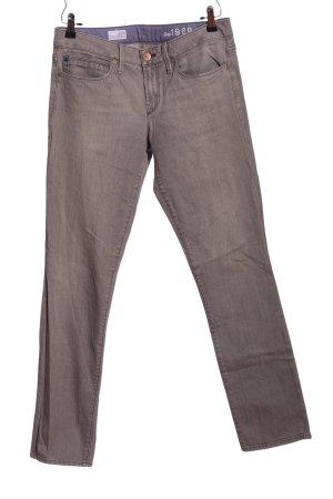 Gap Jeansy z prostymi nogawkami jasnoszary W stylu casual