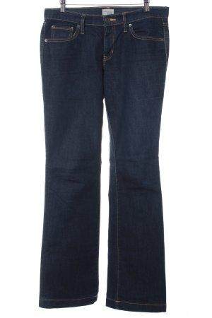 """Gap Jeansy z prostymi nogawkami """"long and lean"""" ciemnoniebieski"""