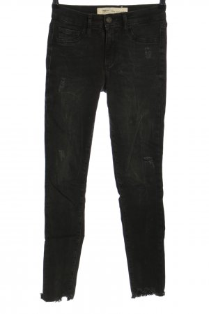 Gap Stretch Jeans schwarz Casual-Look
