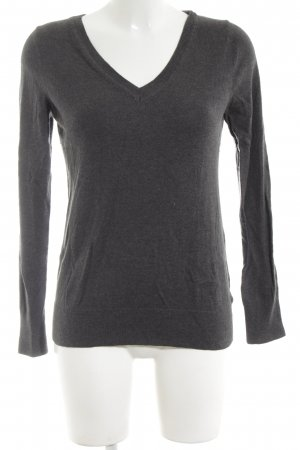 Gap Strickpullover hellgrau Business-Look