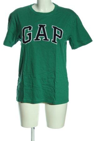 Gap Gebreid shirt gedrukte letters casual uitstraling