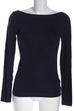 Gap Strickshirt blau Casual-Look