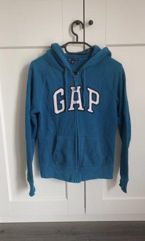 Gap Sweat Jacket petrol-blue