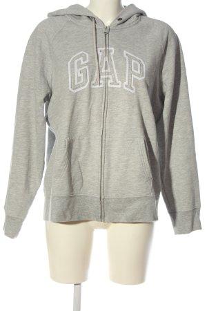 Gap Sweatjacke hellgrau meliert Casual-Look