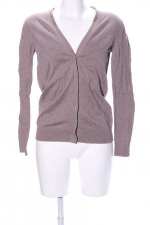 Gap Sweatjacke braun meliert Casual-Look
