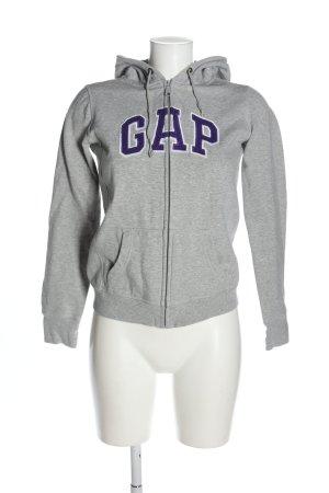 Gap Sweatjacke Schriftzug gedruckt Casual-Look
