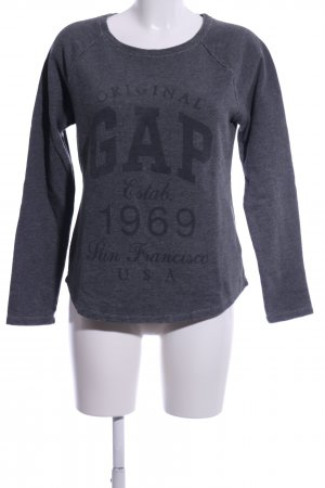 Gap Sweatshirt hellgrau meliert Casual-Look