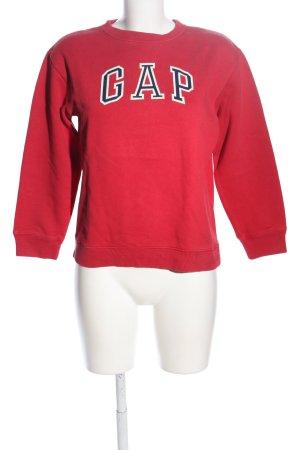Gap Sweatshirt Schriftzug gedruckt Casual-Look