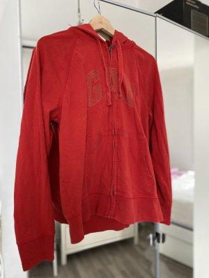 Gap Bluza z kapturem czerwony-złotopomarańczowy