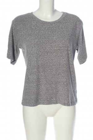 Gap T-Shirt hellgrau meliert Casual-Look