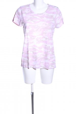 Gap T-Shirt pink-weiß Camouflagemuster Casual-Look