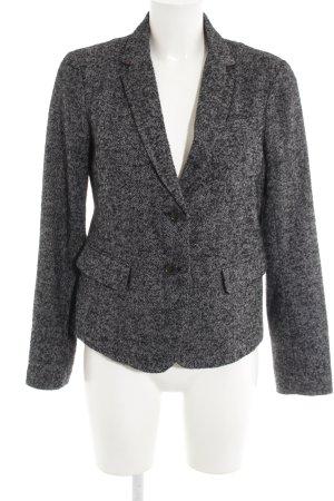 Gap Tweedblazer schwarz-weiß Business-Look