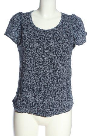 Gap U-Boot-Shirt schwarz-weiß Allover-Druck Casual-Look