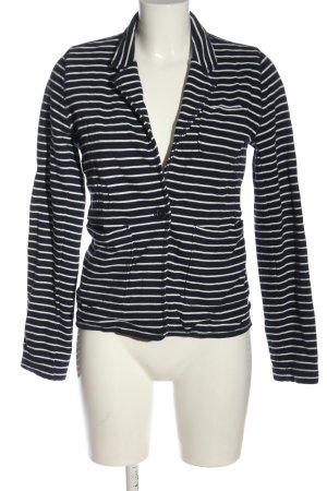 Gap Blazer in maglia blu-bianco stampa integrale stile casual