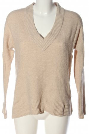Gap V-Ausschnitt-Pullover wollweiß Casual-Look