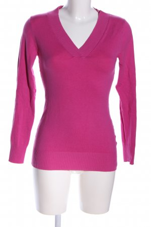 Gap V-Ausschnitt-Pullover pink Business-Look