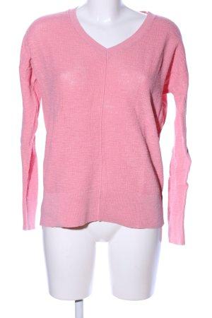 Gap V-Ausschnitt-Pullover pink Casual-Look