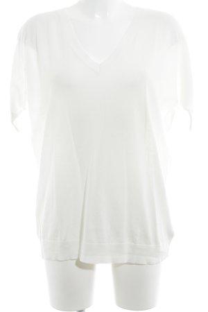 Gap V-Ausschnitt-Pullover creme Casual-Look