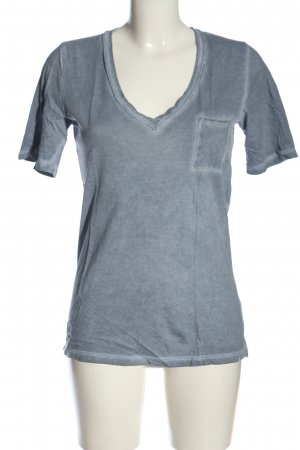 Gap V-Ausschnitt-Shirt blau Casual-Look