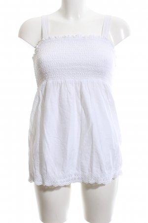 Gap Flounce Top white casual look