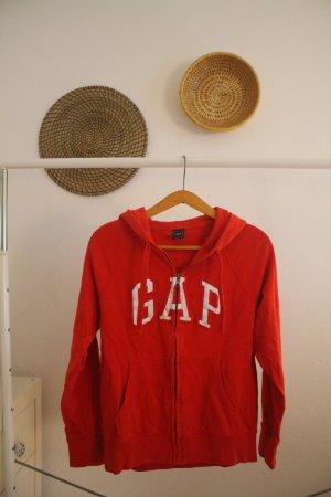 Gap Hooded Vest red